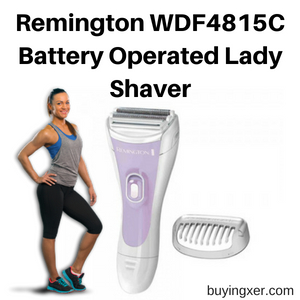 Remington WDF4815C Battery Operated Lady Shaver