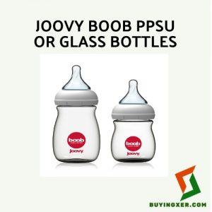 Joovy BOOB PPSU or glass bottles